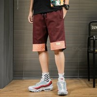 Summer Mens Cotton Shorts Casual Knee-length Trousers
