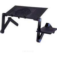 Adjustable Laptop Riser Well Ventilated Metal Computer Stand