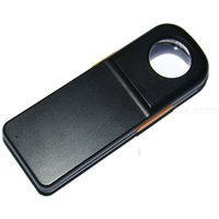 45x21 portable jade jewelry identification magnifying glass mg21010 with LED lamp