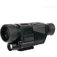 5X42 Digital Night Vision Monocular  Infrared Telescope Dual Use For Day Night Photo Video Recording DVR