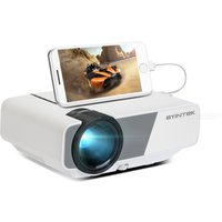 BYINTEK K1 Plus Mini Projector 1080P HD Portable LED Lamp Manual LCD 1.3-6.2m