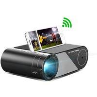 BYINTEK K9 Mini Projector Portable Wireless 1080P HD 250 ANSI Lumens 1.5- 4.5m