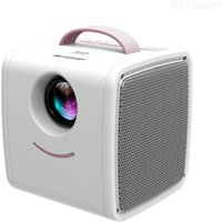 Q2 LCD Mini Portable Projector  One Hand Gripped Support 1080P Full HD For Children Study