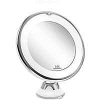 Makeup Vanity Mirror With 10X Lights LED Lighted Portable Hand Cosmetic Magnification Light up Mirrors