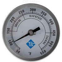 Pointer Thermometer 50-550℉ Stainless Steel Barbecue Grill Oven Oven Thermometer