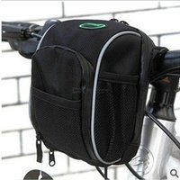 Bicycle Front Tube Storage Bag Waterproof Bike Handlebar Basket Bag Cycling Frame Pannier For Electric Scooter Bike Accessories