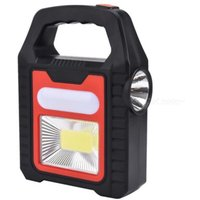 Solar Charging/ USB Rechargeable COB LED Work Light Flashlight Waterproof Searchlight Reparing Light Inspection Lamp Torch