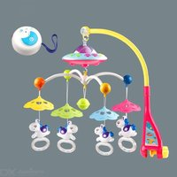Baby Rattles Rotating Crib Mobile Bed Musical Box Toddlers Comfort Toys  Crib Mobiles Toy