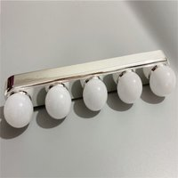 4 Bulbs/5 Bulbs Mirror Light Makeup Light LED Cosmetic Mirror Suction Cup Front Mirror Light Punch-free Bathroom Lights