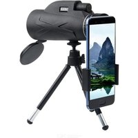 HaleBor 80X100 Outdoor Monocular Telescope  Low-light-level Night Vision HD Telescope With Mobile Phone Clip