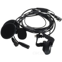 Walkie Talkie Motorcycle Helmet Speaker and Microphone System