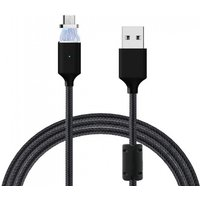Cwxuan Micro USB Detachable Magnetic Charging Data Cable - (1m)