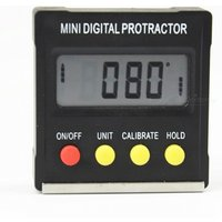Mini Digital Protractor Inclinometer Level Meter with Magnetic Base