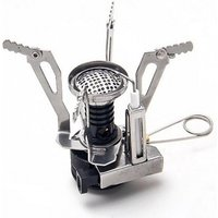 Outdoor Portable Cooking Tool Mini Foldable Steel Camping Picnic Gas Stove Burner