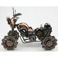 Premium Iron Four-Wheel Beach Motorcycle Model Creative Crafts for Home Decoration