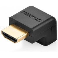 Ugreen 90 Degrees Angle 270 Degrees Angle HDMI Male to HDMI Female Cable Adapter Converter Extender for 1080P HDTV N/A/Black