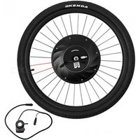 26 inch Smart Electric Front Bicycle Wheel  - Black