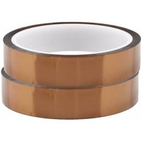 ZHAOYAO 2PCS Heat Resistant Polyimide Roll Tapes