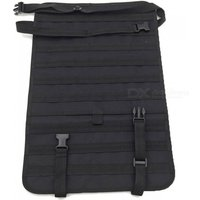 Car Seat Back Sports Leisure Multi-functional 600D Nylon Tactical Bag Backpack Accessory - Black (1L)