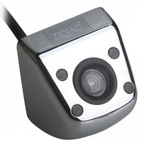 ZIQIAO Waterproof Color CCD Car Rear View Camera w/ 4-LED IR Night Vision