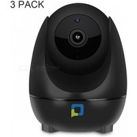 OPTJOY QC21 1080P HD Wi-Fi Wireless Indoor IP Camera with Motion Tracking, Night Vision, Motion Detection, Two Way Audio