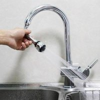 360 Degree Rotatable Water-Saving Faucet Tap Aerator Faucet Nozzle Filter Water Faucet Bubbler Aerat