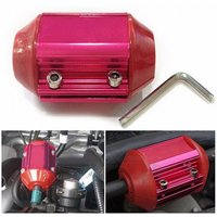 Universal Oil Filter Magnet Magnetic Gas Fuel Saver Performance Cars Trucks Red
