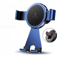 Universal Air Outlet Elastic Car Bracket, Flexible Car Gravity Holder Support, Mobile Phone Stand Holder Dark Blue