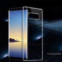 HOCO Transparent Mobile Phone Cases Ultrathin TPU Phone Fitted Case For Samsung Note8 Clear/TPU