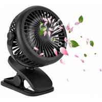 Multifunction Clip Fan Mini Rechargeable Portable Air Cooling Fan With USB Recharge