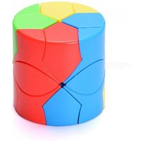 MoYu Cylinder Speed Cube Smooth Magic Cube Finger Puzzle Toy 59.5mm