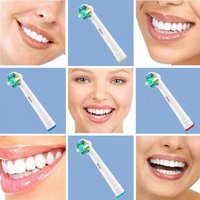 1 Set EB-25A Electric Toothbrush Replacement Heads For Braun Oral B Vitality Brush Heads Floss Action Multi