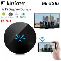 5Ghz  G6 TV Stick Dongle Anycast Crome Cast HDMI WiFi Display Receiver Miracast Google Chromecast 2 Mini PC Android TV