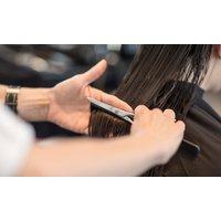 Waschen, Schneiden, Föhnen opt. Calligraphy Cut für Damen im Friseursalon Wendler