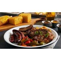 All-you-can-eat-BBQ-Buffet mit Grill-Spezialitäten und Beilagen für 2 oder 4 Personen im Restaurant Blue (26% sparen*)