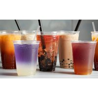 Bubble Tea und oder Bubble-Waffel mit 3 Toppings bei Moono