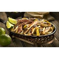 Mexikanisches 2-Gänge-Menü mit Fajitas für 2 oder 4 Personen bei Moctezuma Mexico (bis zu 36% sparen*)