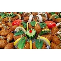 Veganes/Vegetarisches Catering inkl. Lieferung für 10 bis zu 20 Personen bei Cigköftem Düsseldorf (bis zu 33% sparen*)