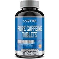 200, 400, 660 oder 800 Kapseln Matrix Pure Caffeine zum Gewichtsmanagement