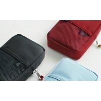 1x oder 2x Organizer-Reisetasche in Grau, Blau oder Rot