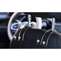 2er-, 4er- oder 8er-Set Tragbare Haken für Autositz