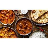 Indisch-ayurvedisches Hauptgericht mit Getränk für 1 bis 4 Personen im Mehndi Restaurant und Bar