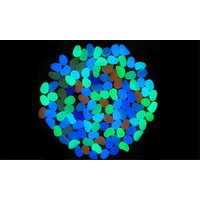 'Pack Of 100, 200 Or 300 Glow-in-the-dark Pebbles In Choice Of Colour