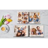 Hardcover-Fotobuch mit bis zu 100 Seiten bei Printerpix (bis zu93% sparen*)
