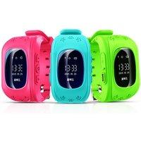 1x oder 2x Kinder-Smartwatch Q50 mit GPS-Tracker und SOS in Pink, Blau oder Grün