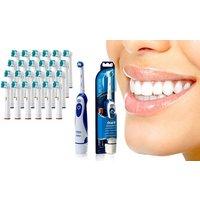 Braun Oral B Advance Power 400 elektrische Zahnbürste und/oder 4, 8, 16, 32, 24 o. 48 Oral B-kompatibel Aufsteckbürsten