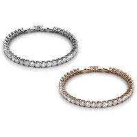 """Armband """"Venus"""" in der Farbe nach Wahl, verziert mit Zirkonia Kristallen"""