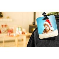 Personalisierte Foto-Gepäckanhänger in 7 x 10 cm von Printerpix