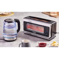 Cooks Professional Glass Toaster, Kettle or Set of Both