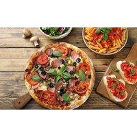 30-40 cm Pizza oder XL-Pasta-Box inklusive Softdrink für 1-4 Personen in La Pizzaria